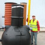 Uusi, sähkötön menetelmä harmaavesien puhdistukseen