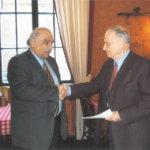 Jaakko Nurmesniemelle tunnustus Italian suurlähettiläältä