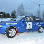 Jussi Saarinen ajaa toisena junioreiden SM-sarjassa