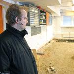 Kuljun koulussa korjataan kosteusvaurioita