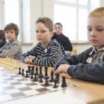 Kuljun koululaiset kisailivat shakkimestaruudesta