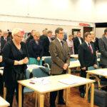 Valtuusto muisti entisiä puheenjohtajiaan