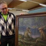 Matti Haapalan taidetta esillä Sääksjärven kirjastossa