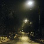 Altti Näsi tallensi tunnelman Höytämöntiellä keskellä yötä. Kuva: Altti Näsi.
