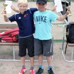 Kansallisen tennisturnauksen kaikki luokkavoitot Lempäälään