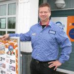 Mika Stenius aloittaa kauppiasuransa Vesilahdessa