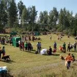 Kehät eivät maaseutunäyttelyssä ole hallissa vaan ulkona nurmipohjalla.