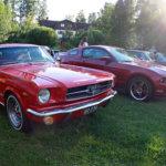 Vrum vrum, sanoo Mustang