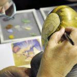 Posliininmaalaus ei vaadi piirustustaitoa