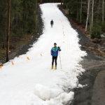 Ilmastonmuutos on tosiasia ja hiihtäjät ovat kohta varastoidun lumen varassa