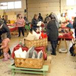 Joulumarkkinoilla oli puuhaa koko perheelle