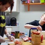 Herkkuja starttipajan keittiöstä