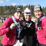 Liekehtivä Aino-Kaisa Saarinen nosti Kisattaret pronssille