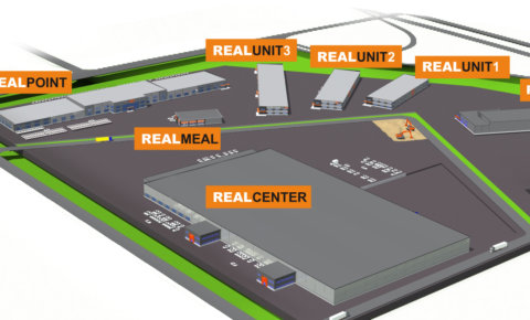 Havainnekuva RealParkin alueesta. Kuva: RealPark.
