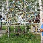 Olli Petterin puistossa biennaali