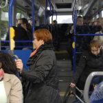 Bussi kääntää Laasonportilla tai Virta-kampuksella