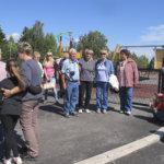 Lempäälän uusin päiväkoti, Moisiossa sijaitseva Siskonlinna kuului unkarilaisvieraiden tutustumiskohteisiin. Kuva: Ritva Mäkelä