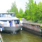 Purjehduskaudella 1 500–2 000 sulutusta Lempäälän kanavassa