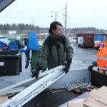 Lempäälän jäteasemaa laajennettiin ja uudistettiin
