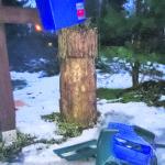 Postilaatikko posautettiin Kuljussa