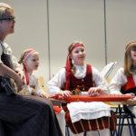 Lempäälän Helkanuorista löytyivät konsertin nuorimmat soittajat.