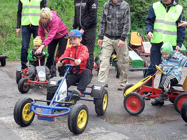 Lasten liikennepuiston avajaisia vietetään sunnuntaina.