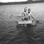 Mökkielämää 50-luvulla Vesilahden Suonojärven rannalla