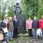 Unkarilaiset kävivät Lapualla laskemassa seppeleen, koska sinne asti unkarilaiset talvisotaan saapuneet vapaaehtoiset ehtivät. Kuva: Jouko Huurne