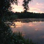Auringonlasku Myllyrannasta Kuva: Noora Muukkonen