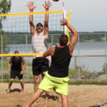 Puulaakipalloilua Lammasniemessä
