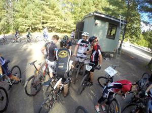 Olli Savikko suunnisti pyörällä numero 186. Kuva: Juha-Pekka Seppänen