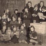 Hervannanmaan kylän koulu aloitti toimintansa 1945