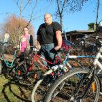 Kierrätyspuodista voi lainata polkupyöriä