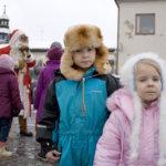 Joulunavaus oli lapsille juhlaa