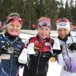 Nuorten SM -hiihdoissa menestystä  ja menetystä