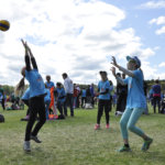 Leki/Liinut -joukkue pelasi E-tyttösarjassa. Kuva: Katariina Onnela