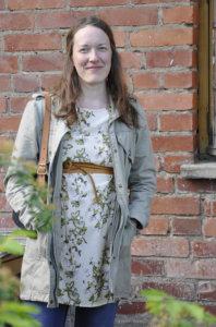 Kuvataiteilija, puutarhuri ja valokuvaaja Susanna Kaapu on rappioromantikko. Kuva: Katariina Onnela