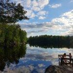 Yhtä ihania peilaavia uimavesiä ei kyllä kovin montaa osunut tälle kesälle! Kuva: Mirva Kujala