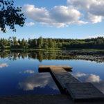 Ihanan seesteinen Ameenjärvi! Kuva: Mirva Kujala