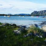 Kävelylenkin maisema Norjassa. Kuva: Lotta Kuittinen