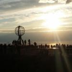 Nordkapin auringonlasku. Kuva: Lotta Kuittinen