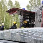 Paloasema valmistui paikallisin voimin