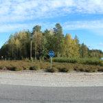 Helsingintien ja Marjamäentien/Savontien risteys. Kuva: Erkki Koivisto