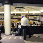 Euroopan parlamentin istuntosali Brysselissä. Kuva: Katariina Onnela