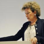 Maria Åsenius kertoi TTIP-sopimuksesta, jonka neuvotteluja on käyty vuodessta 2013. Kuva: Katariina Onnela