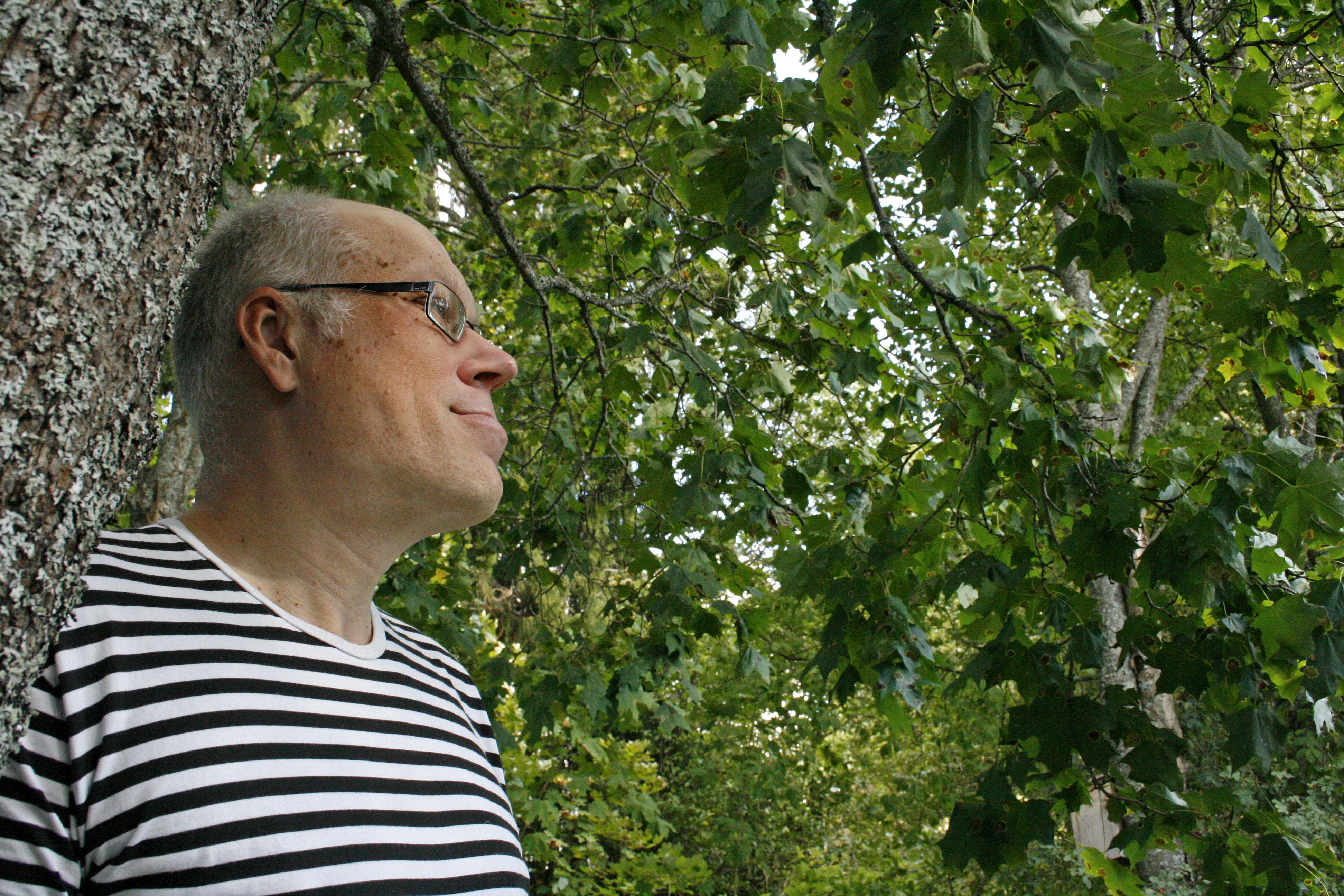 Markus Perko tunnetaan Lempäälässä monipuolisena hyväntekijänä. Kuva: Ida Nieminen