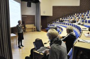 Kunnanjohtaja Heidi Rämön mukaan jatkossa yhä useampi liikuntapaikka rakennetaan joukkorahoituksella. Kuva: Katariina Onnela