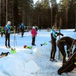 Hakkarin hiihtokausi alkoi lauantaina