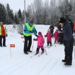 Nappulahiihdoissa 261 hiihtäjää