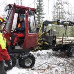 40 000 rekkakuormaa puuta käytettiin Pirkanmaalla